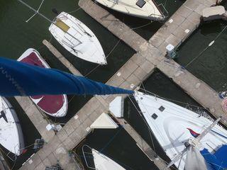 Up the mast 1