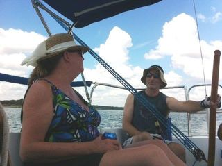 Sailing with friends 9-14 c